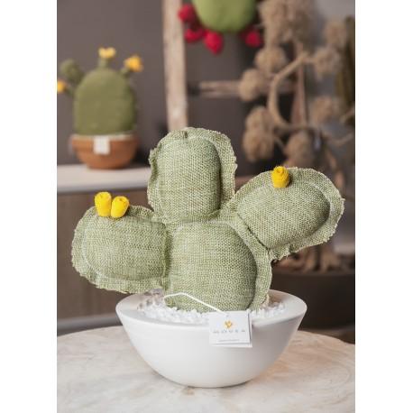 Cactus artificiale in tessuto